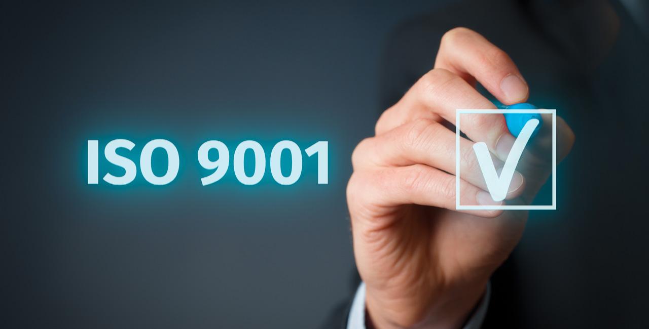 Certificazione ISO Qualità 9001